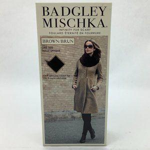 Badgley Mischka | Women's Infinity Fur Scarf